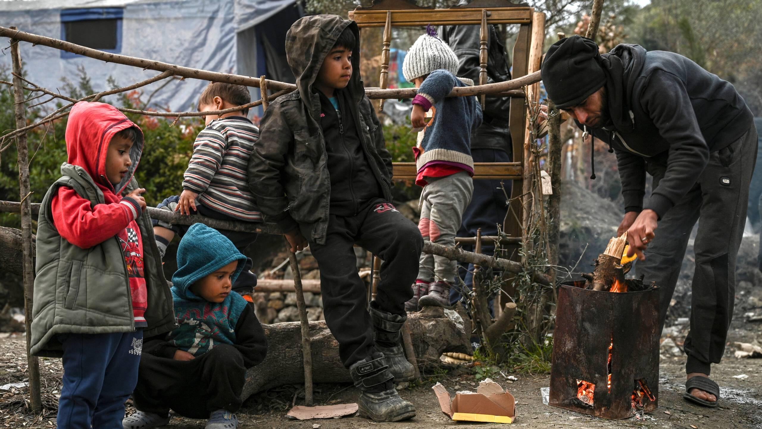 Meer psychische klachten in kampen op Griekse eilanden